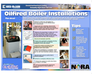 Hot water boiler install